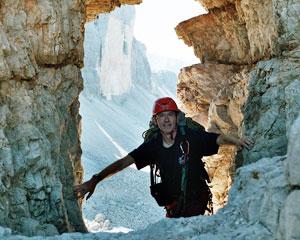 Klettersteig Drei Zinnen : Paternkofel paterno innerkofler klettersteig