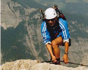 Klettersteigset Watzmann : Watzmann Überschreitung hocheck mittelspitze südspitze