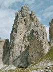 Torre Wundt, ein großer Gipfel der Cadini-Gruppe, Cadini di Misurina