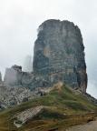 Torre Grande der Cinque Torri bei Cortina d'Ampezzo in den Dolomiten