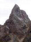 Cusiglio in der Palagruppe, er stellt sich auf, wie das Matterhorn