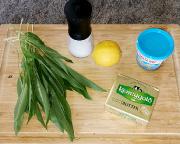 Bärlauchbutter – die Zutaten für das sehr einfache Rezept
