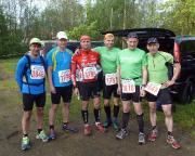 Vor dem Start des Zittauer Gebirgslaufes 2014 über 35 km