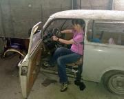 Ein wunderschöner Trabant 601 - das neue leider abgelehnte Auto
