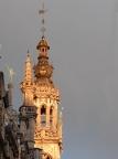 Abendsonne an Brüssels Architektur