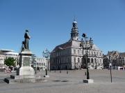 Auf dem Marktplatz von Maastricht