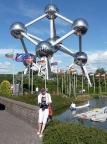 In Klein Europa am Atomium Brüssel