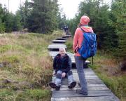 Sauglatt war es auf dem Kamm des Isergebirges bei Wieses 50.-Geburtstags-Tour
