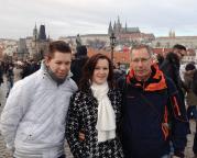 Das Jahr begann mit Silvester, Neujahr in Prag, ein wirklich würdiger Jahresbeginn