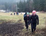 Einfach mal raus - Winterwanderung im Isergebirge, hier in Josefuv Dul
