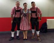 Beim Konzert von Andreas Gabalier in Köln, Ordnung muss auch bei der Kleidung sein