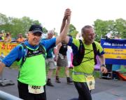 Auch 2018 wurde das Ziel des Supermarathons beim Rennsteiglauf erreicht