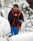 Bei einer traumhaft schönen Winterwanderung im Khaatal