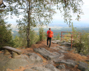 Während unseres Kurzurlaubes in Oybin an der Böhmischen Aussicht