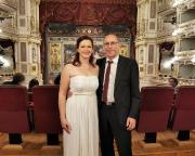 Bei einem unserer genussvollen Besuche der Semperoper in Dresden