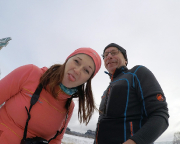 In den ersten Stunden des Jahres Rumblödelei mit der neuen GoPro bei Ostrau