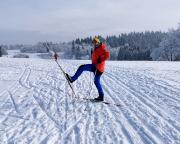 Sonnige Wintertage mit Langlaufski und Winterwandern im Isergebirge