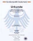 Beurkundung der Marke Quackensturm durch das Patent- und Markenamt