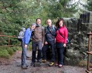 Mit Anne und Stefan an den Sandsteinorgeln bei Jonsdorf
