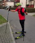 Als Ausgleichsport für mich neu entdeckt – Rollerski fahren