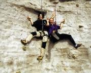 Kletterspaß mit Maria Roßberg am Braschelstein