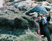 24.03.2001 - Stephan im Alten Weg am Östlichen Feldkopf
