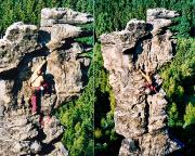 07.06.2003 - Bielatal, Kleine Herkulessäule, Alter Weg IV