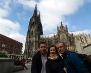 Köln 2015 - Ein Besuch des Doms gehört natürlich zu einer Kölnreise - auch uns gelingt es nicht, dass gesamte Bauwerk aufs Bild zu bringen.