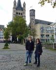 Köln 2015 - Stadtbummel durch Köln, hier entlang des Rheinufers.