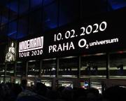 Aber unser Ziel war ein ganz anderes, nämlich das O2-Universum Prag