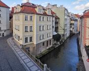 Unser Hotel Certovka, unmittelbar an der Karlsbrücke gelegen
