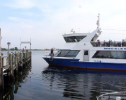 Kurztripp nach Wismar - Natürlich gehört Bootfahren zur Ostseereise - hier die MS Magdeburg, mit der wir einen Ausflug zur Insel Pöhl unternommen haben.