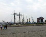 Kurztripp nach Wismar - Wenn man das nicht kennt, staunt man nicht schlecht - nicht nur ein Dreimaster liegt hier vor Anker!