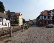 Kurztripp nach Wismar - Blick in die Wismarer Altstadt.