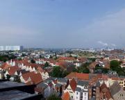 Kurztripp nach Wismar - Blick auf Wismar vom Turm der Kirche St. Georg