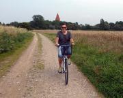 Kurztripp nach Wismar - Nun, da wir aber echten Strand wollten, haben wir uns kurzerhand Fahrräder ausgeliegen und auf ging es ...
