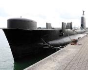 Ostseeurlaub 2017 – Hafen Saßnitz – hier liegt ein U-Boot der Oberon-Klasse