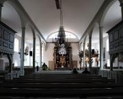 Ostseeurlaub 2017 – Blick in das Schiff der Seemannskirche Prerow