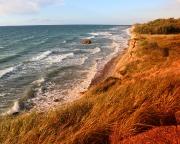 Ostseeurlaub 2017 – Abendstimmung an der Steilküste von Ahrenshoop