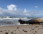 Ostseeurlaub 2017 – Das Spiel von Wellen und Wolken an der Darßer Ostseeküste