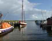 Ostseeurlaub 2017 – Blick auf den Saaler Bodden bei Althagen