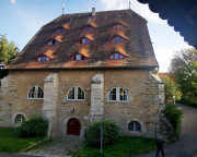 Die Roßmühle von Rothenburg mit Fledermausgauben