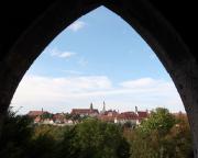 Und hier der Blick auf einen Teil der Stadt aus einem Wachturm