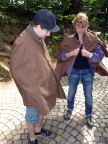 Keine Hobbits - Besucher der Feengrotten in Saalfeld