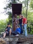 Gruppenfoto an den Feengrotten