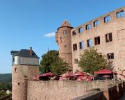 Nicht nur wegen der Aussicht zu empfehlen – Burgrestaurant der Burg Wertheim