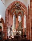 Im Hauptschiff der Stiftskirche St. Marien Wertheim