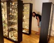 Bei einem Abstecher in das sehenswerte Glasmuseum Wertheim