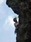 Apostel bei Oberhof - teils brüchig, teilas angenehm zu klettern