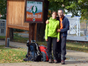 Harzer Hexenstieg - nach 110 km glücklich am Ziel in Thale